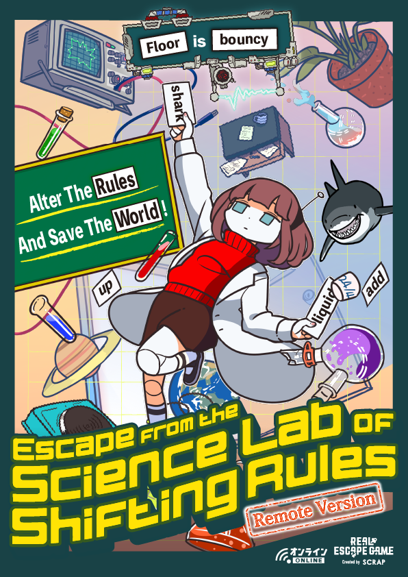 Escape from the Science Lab of Shifting Rules (Remote Version)